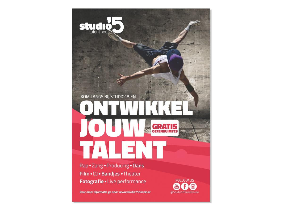 TeamCreative werkt voor Studio 15