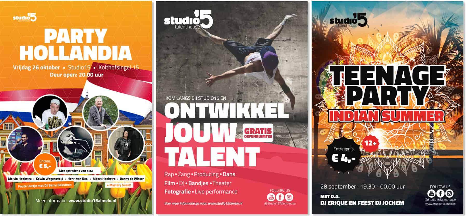 studio15 posters